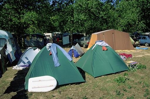 Tent「Camping on France's Atlantic Coast」:スマホ壁紙(7)