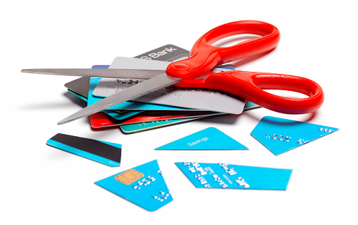 Temptation「In debt, cut up credit card」:スマホ壁紙(12)