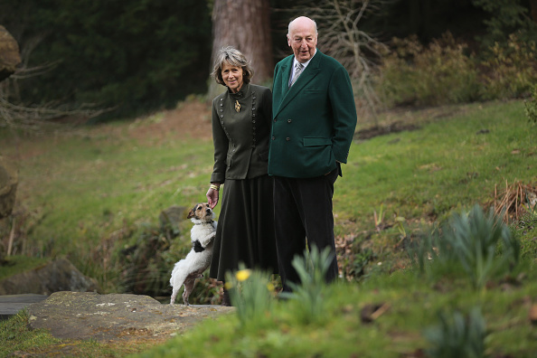 Ornamental Garden「Chatsworth House Season Opening 2016」:写真・画像(2)[壁紙.com]