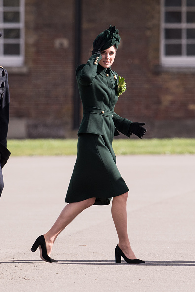 Black Color「The Duke And Duchess Of Cambridge Attend The Irish Guards St Patrick's Day Parade」:写真・画像(10)[壁紙.com]