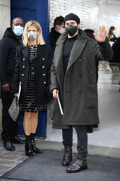 Knit Hat「Paco Rabanne : Front Row -  Paris Fashion Week - Womenswear Spring Summer 2021」:写真・画像(3)[壁紙.com]