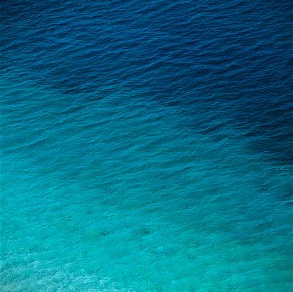 Green Color「View of a sea」:スマホ壁紙(2)