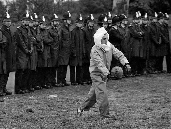 Tom Stoddart Archive「Striking Miner At Orgreave」:写真・画像(7)[壁紙.com]