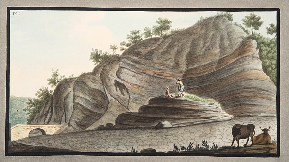 Ox Cart「View Of A Section Of A Part Of The Cone Of Astruni Taken At The Entrance Of This Volcano」:写真・画像(14)[壁紙.com]