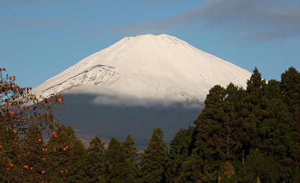 静岡県「Snow-Capped Mount Fuji Appears A Scenic View」:写真・画像(18)[壁紙.com]