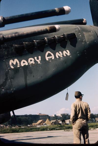 Color Image「WW2 Fighter Plane Nose Art」:写真・画像(2)[壁紙.com]