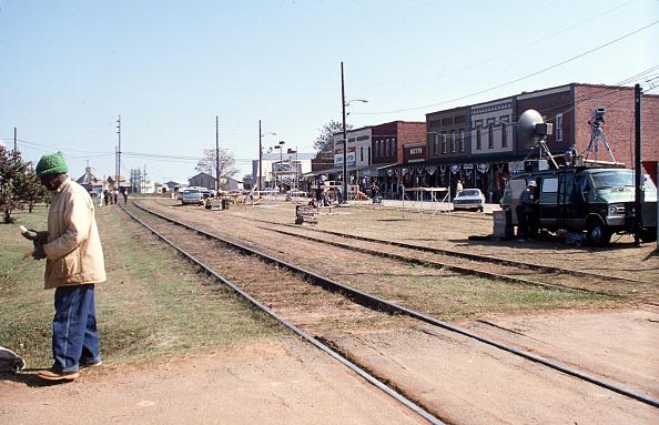 Railroad Track「Main Street, Plains, Georgia」:写真・画像(19)[壁紙.com]