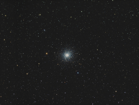 star sky「Messier 13, the Great Globular Cluster in Hercules.」:スマホ壁紙(15)