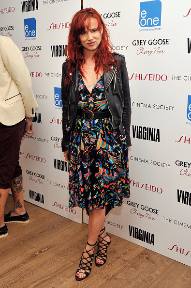 """Leather Jacket「The Cinema Society & Shiseido With Grey Goose Host A Screening Of """"Virginia"""" - Arrivals」:写真・画像(14)[壁紙.com]"""