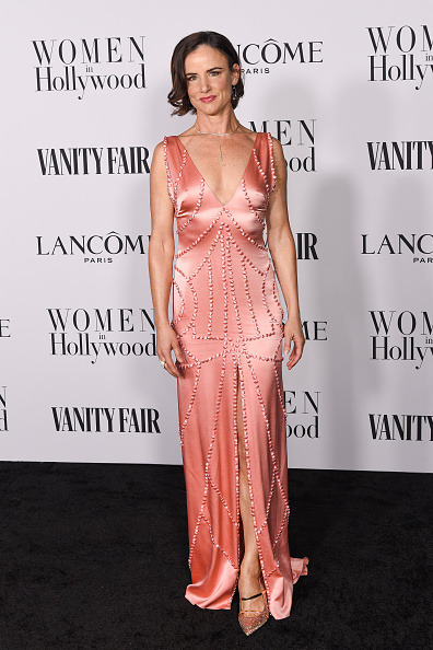 Satin Dress「Vanity Fair and Lancôme Women In Hollywood Celebration」:写真・画像(11)[壁紙.com]