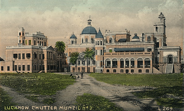 Hand Colored「Lucknow Chutter Munzil No 2  Creator: Unknown」:写真・画像(14)[壁紙.com]
