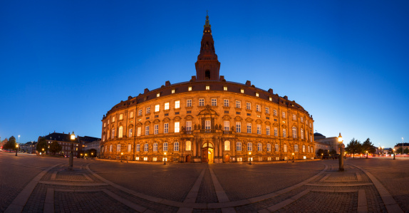 Danish Culture「Danish parliament panorama」:スマホ壁紙(7)