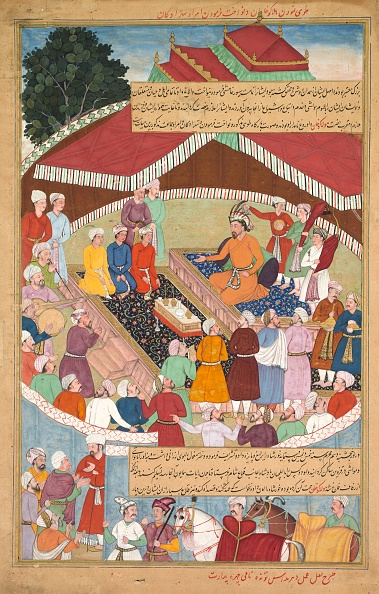 Giving「Hulagu Khan Giving A Feast And Dispensing Favor Upon The Amirs And Princes...」:写真・画像(15)[壁紙.com]