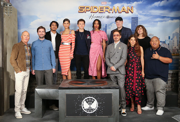 "Zendaya Coleman「""Spider-Man: Homecoming"" Photo Call」:写真・画像(17)[壁紙.com]"