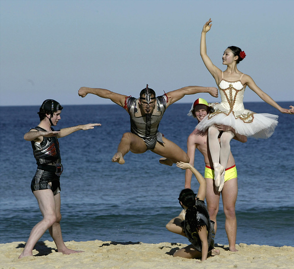 Clear Sky「'Beyond Bondi' Ballet perform on the beach」:写真・画像(14)[壁紙.com]