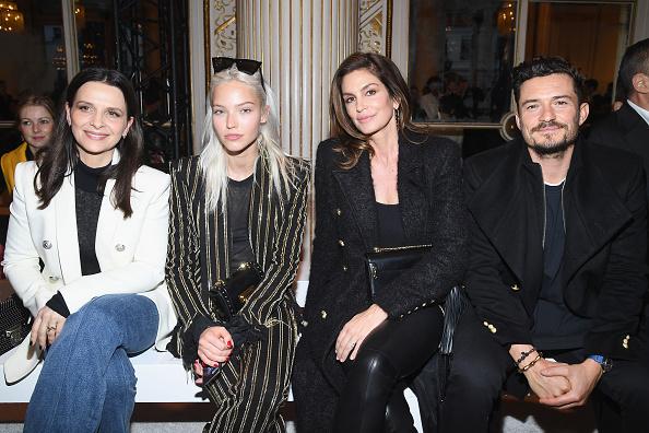 オーランド・ブルーム「Balmain Homme : Front Row - Paris Fashion Week - Menswear F/W 2018-2019」:写真・画像(17)[壁紙.com]