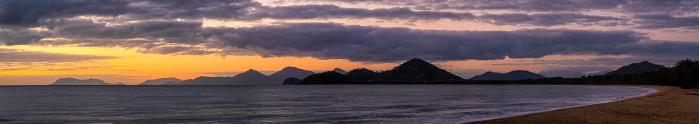 リゾート「パーム コーブ パノラマ、クイーンズランド、オーストラリアで夜明け」:スマホ壁紙(19)