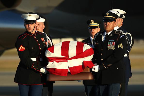 Maryland - US State「Body Of President George H.W. Bush Arrives At Joint Base Andrews」:写真・画像(3)[壁紙.com]