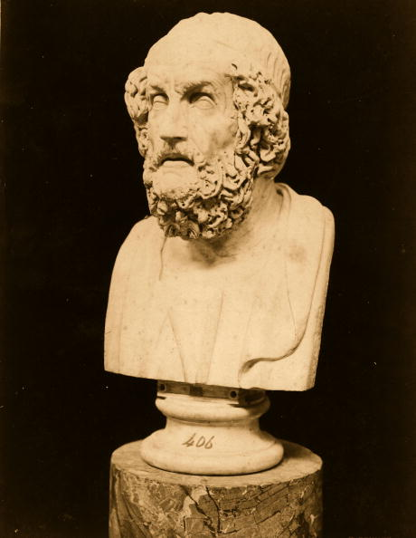 Ancient Greece「Bust Of Homer」:写真・画像(18)[壁紙.com]