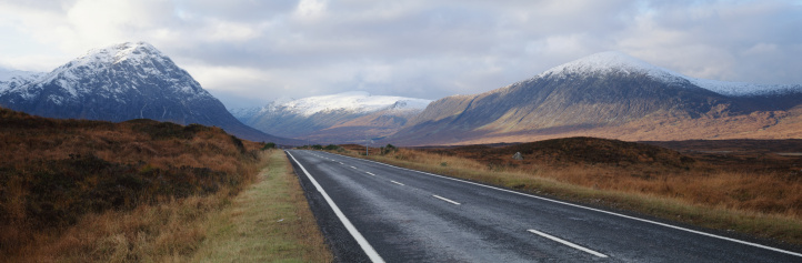 スコットランド文化「Scotland, Highlands, Glencoe, highway」:スマホ壁紙(0)