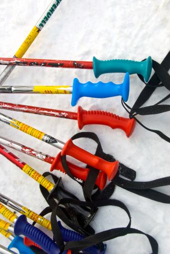 スキーストック「Ski poles」:スマホ壁紙(6)
