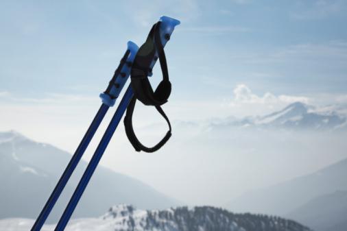 スキーストック「Ski poles」:スマホ壁紙(13)