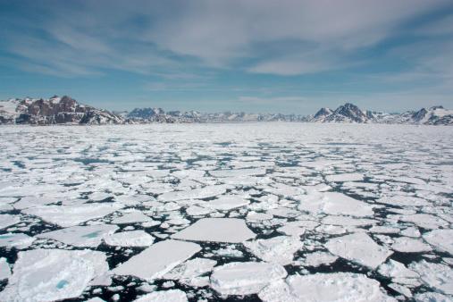 North Atlantic Ocean「Sea Ice」:スマホ壁紙(2)
