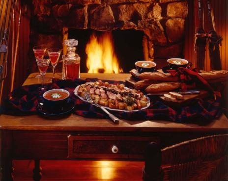 Ski Resort「Romantic dinner」:スマホ壁紙(0)