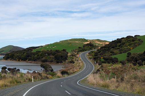 cloud「Niagra-Waikawa Road near Waikawa Harbour.」:スマホ壁紙(0)