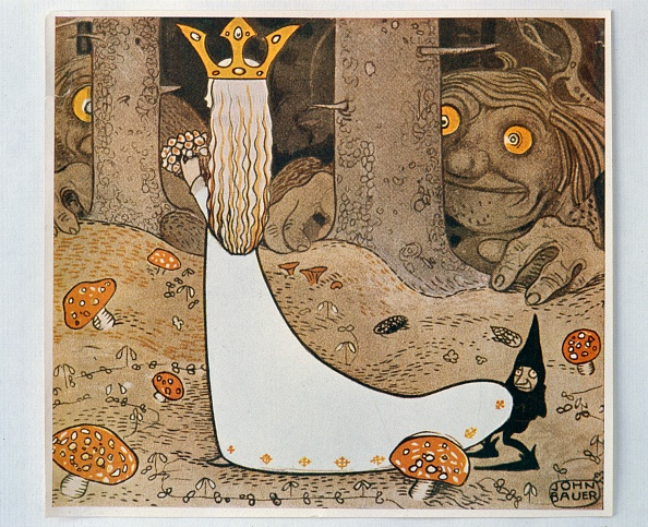 Fairy Tale「The Princess And The Troll From Bland Tomtar Och Troll」:写真・画像(13)[壁紙.com]