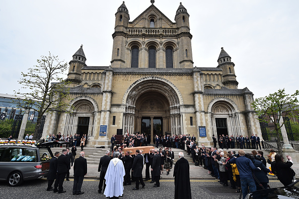 Church「Funeral For Journalist Lyra McKee Held In Belfast」:写真・画像(7)[壁紙.com]