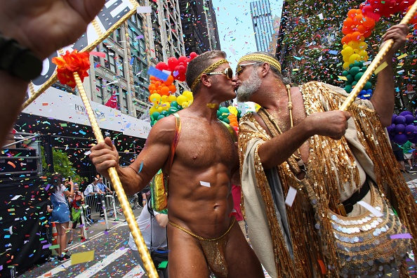 LGBTQIA Pride Event「Thousands Flock To Annual Pride March  In New York City」:写真・画像(9)[壁紙.com]