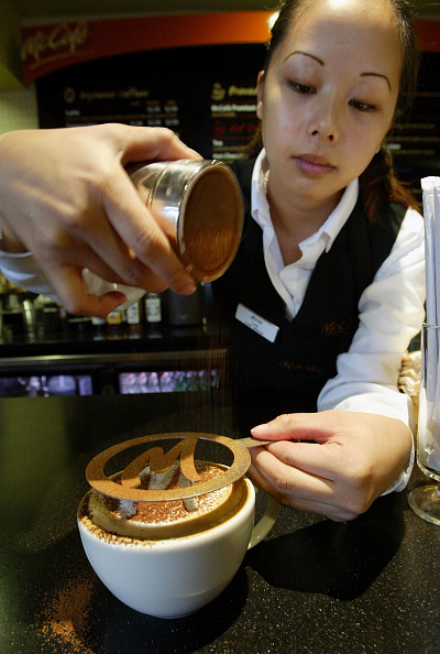 Cappuccino「First McCafe Opens In Northern California」:写真・画像(12)[壁紙.com]