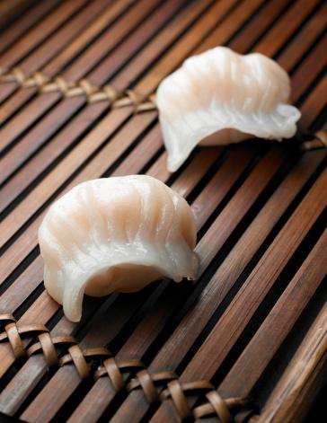 Dim Sum「two steamed shrimp dumplings」:スマホ壁紙(0)