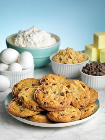 Milk Chocolate「Baking Chocolate Chip Cookies」:スマホ壁紙(13)