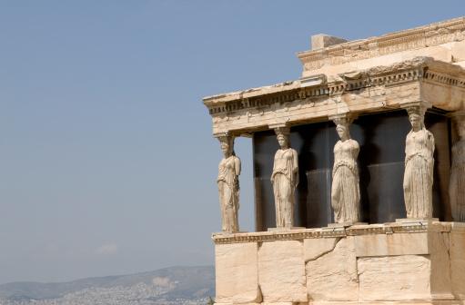 Ancient Civilization「Caryatids at the Erechtheion, Acropolis」:スマホ壁紙(1)