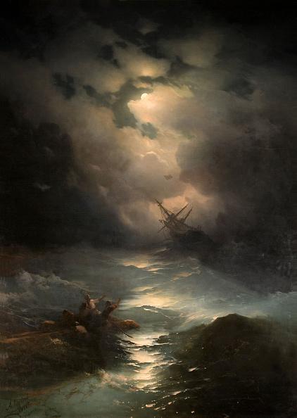 Painted Image「North Sea Storm 1865」:写真・画像(13)[壁紙.com]