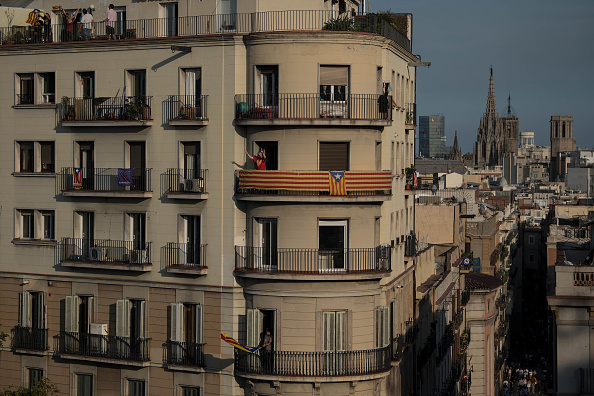 Architectural Feature「Aftermath Of The Catalonian Independence Referendum」:写真・画像(15)[壁紙.com]