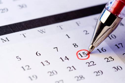 Calendar「Setting a date」:スマホ壁紙(5)