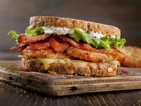 Mayonnaise「Fried Tomato, BLT Sandwich」:スマホ壁紙(5)