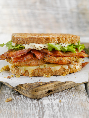 Mayonnaise「Fried Tomato, BLT Sandwich」:スマホ壁紙(6)