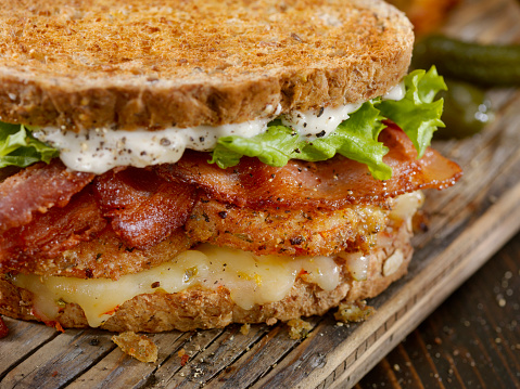 Toasted Sandwich「Fried Tomato, BLT Sandwich」:スマホ壁紙(8)