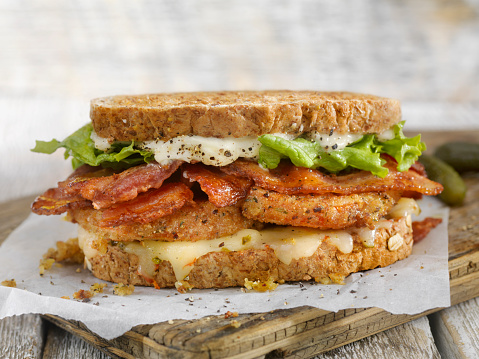 Toasted Sandwich「Fried Tomato, BLT Sandwich」:スマホ壁紙(11)