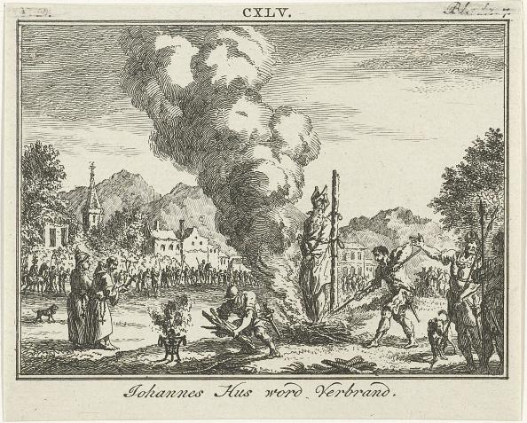 Wooden Post「Burning of Jan Hus at the stake, Mid of the 18th century」:写真・画像(19)[壁紙.com]