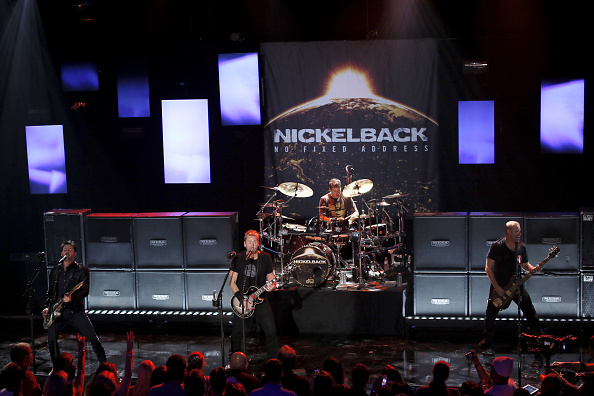 ニッケルバック「Nickelback Performs Live At The iHeartRadio Theater Los Angeles For iHeartRadio Live」:写真・画像(3)[壁紙.com]