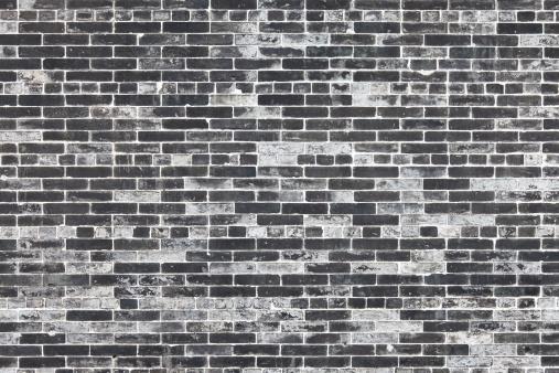 Brick Wall「Gray brick wall」:スマホ壁紙(10)