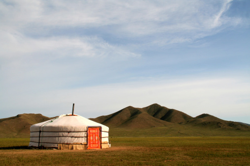 Independent Mongolia「Ger Tent in Mongolia」:スマホ壁紙(2)