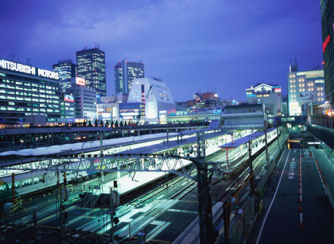 Passenger「Shinjuku Station at night」:スマホ壁紙(4)