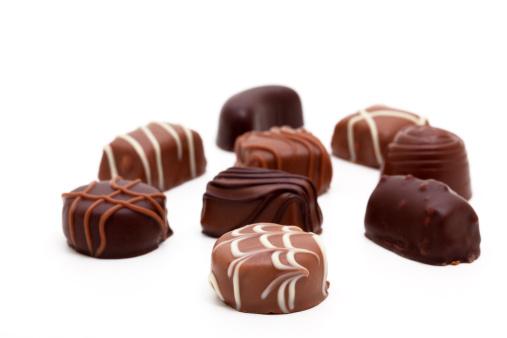 チョコレート「variation of chocolate candies」:スマホ壁紙(9)