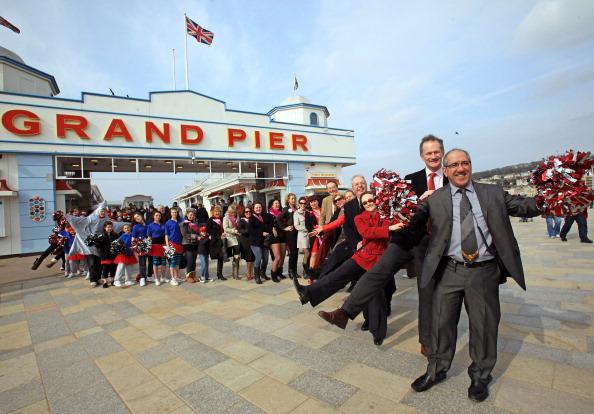 Weston-super-Mare「British Tourism Week Is Launched On Weston-Super-Mare's Grand Pier」:写真・画像(14)[壁紙.com]